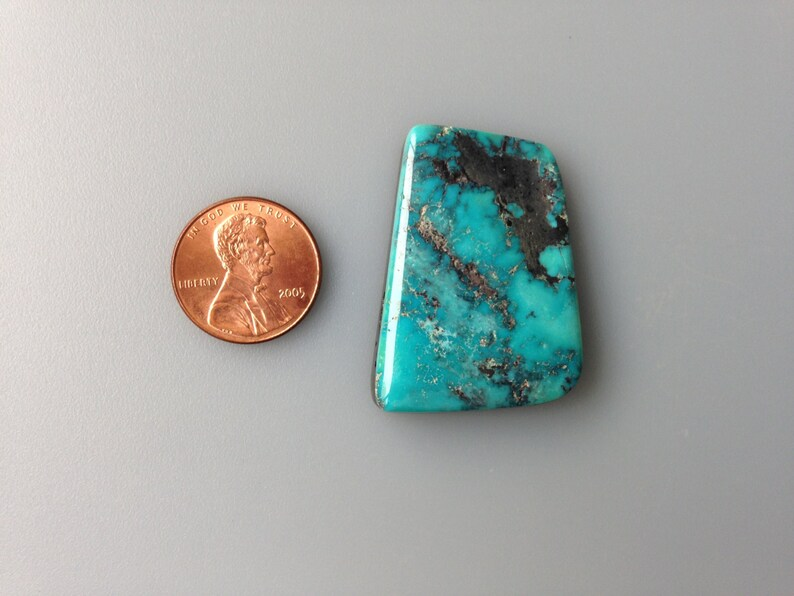 cd6265ab50b9 Indian Mountain Turquoise Cabochon Natural 44 Carat Cab Stone