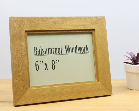 Items Similar To 6x8 Picture Frame Elm Wood Photo Frame 6x8 Frame