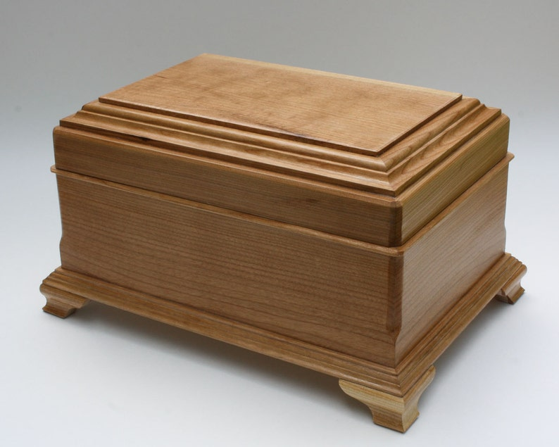 497aab207 Cherry wood jewelry box wooden jewelry box ring storage | Etsy