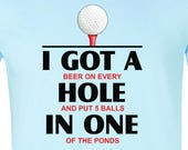 Men 39 s - I Got A Hole In One Golf - FREE SHIPPING
