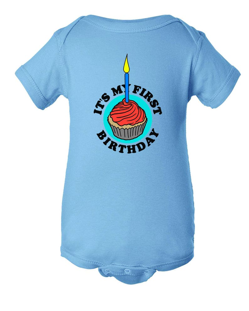 FREE SHIPPING Infant Baby Onesie Unisex My First Birthday