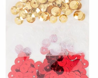 Xmas sequins assortment pack