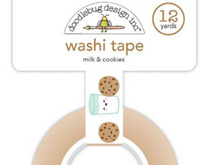 Doodlebug milk and cookies washi tape