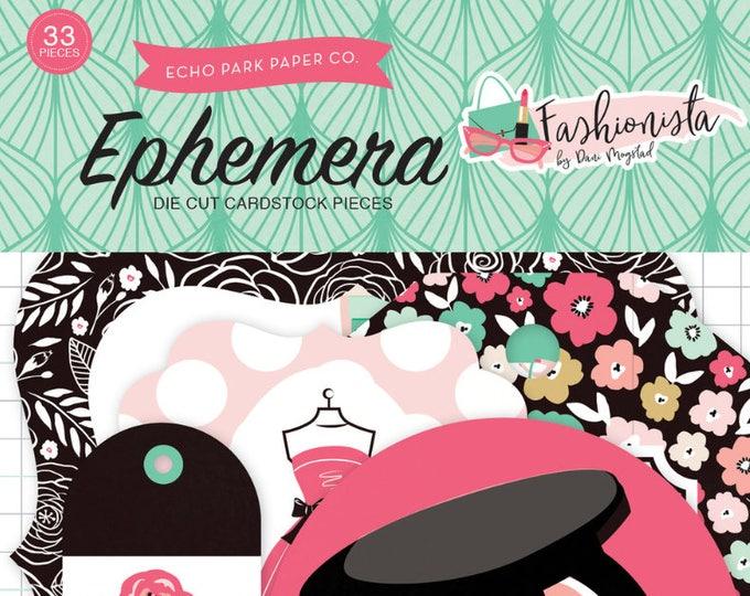 Fashionista ephemera pack
