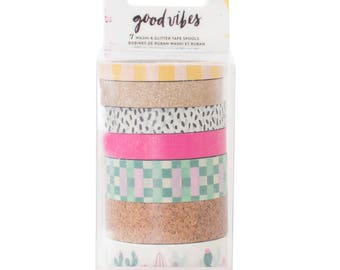 Good vibes washi tape pack by crate paper