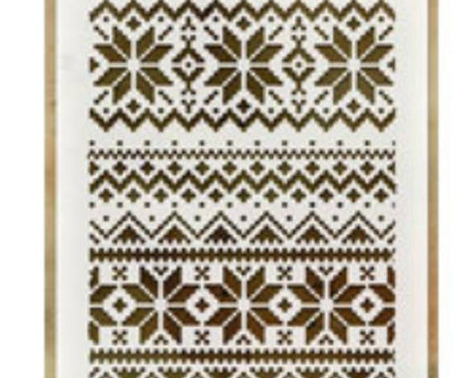 Holiday knit layering stencil