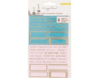 Maggie holmes carousel sticker sheets