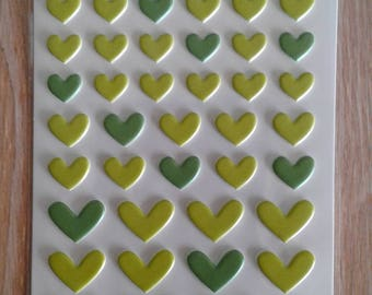Bella blvd puffy hearts stickers pickle juice