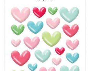 Doodlebug- stars, hearts, or candy cane  sprinkles
