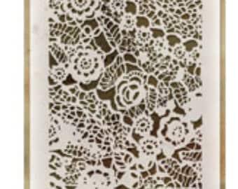 Doily layering stencil