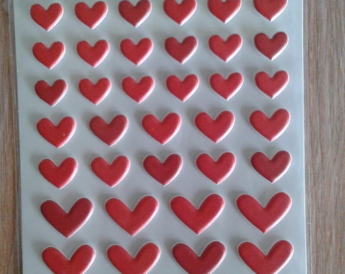 Bella blvd McIntosh mix  puffy hearts stickers