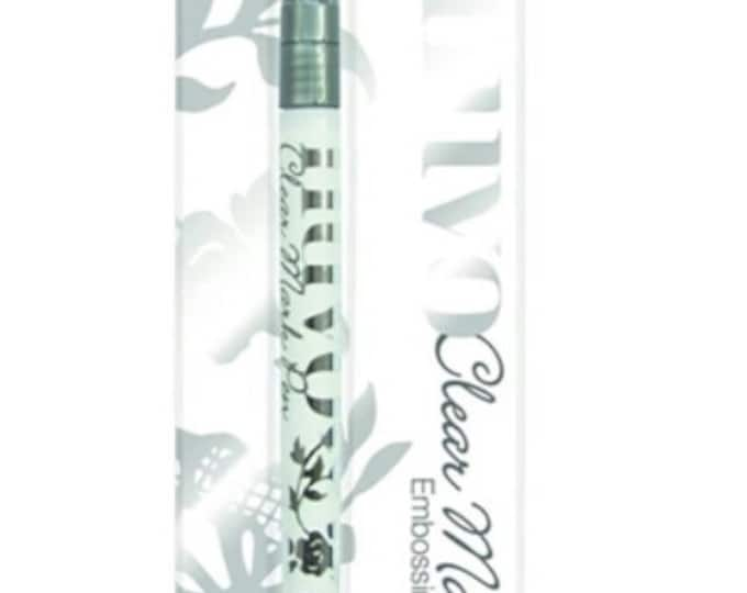 Nuvo clear embossing pen