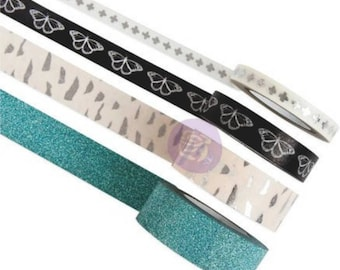 Prima zella teal decorative tape