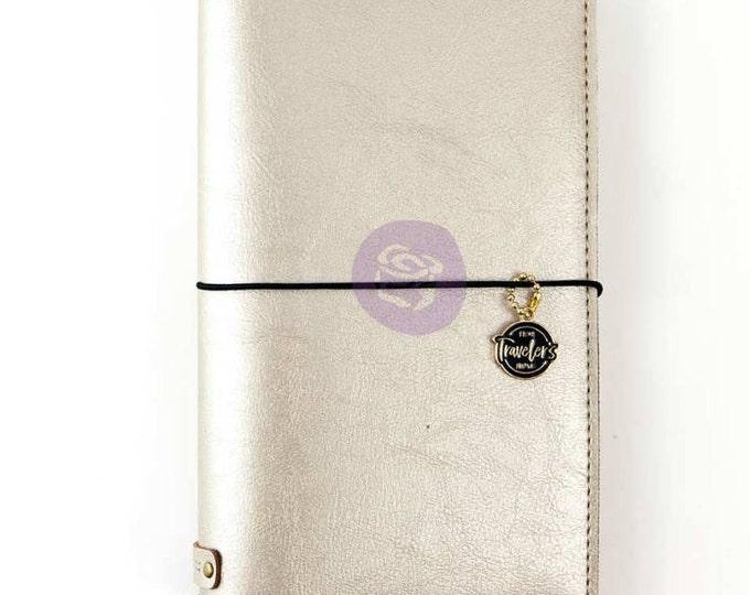Champagne prima traveler notebook cover