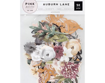 Auburn lane mix floral ephemera pack