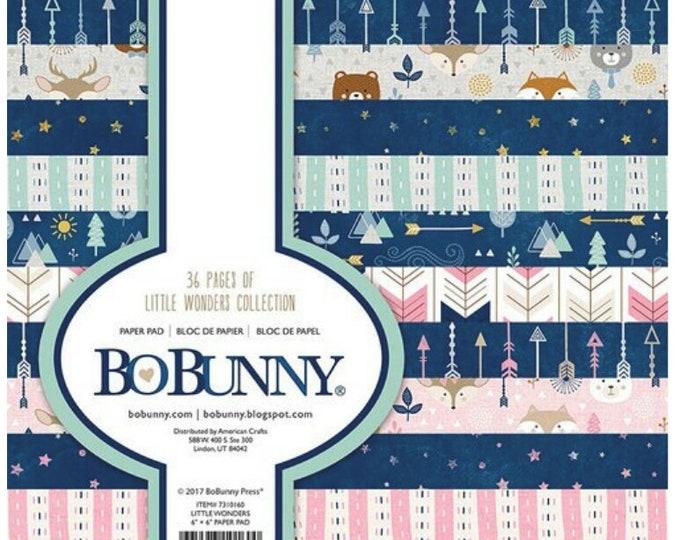 Bo bunny little wonders 6x6paper pad