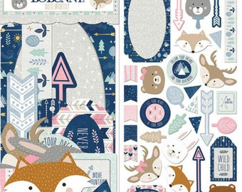 Bobunny little wonders noteworthy die cut pieces