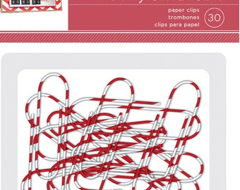 Holiday paper clips by american crafts
