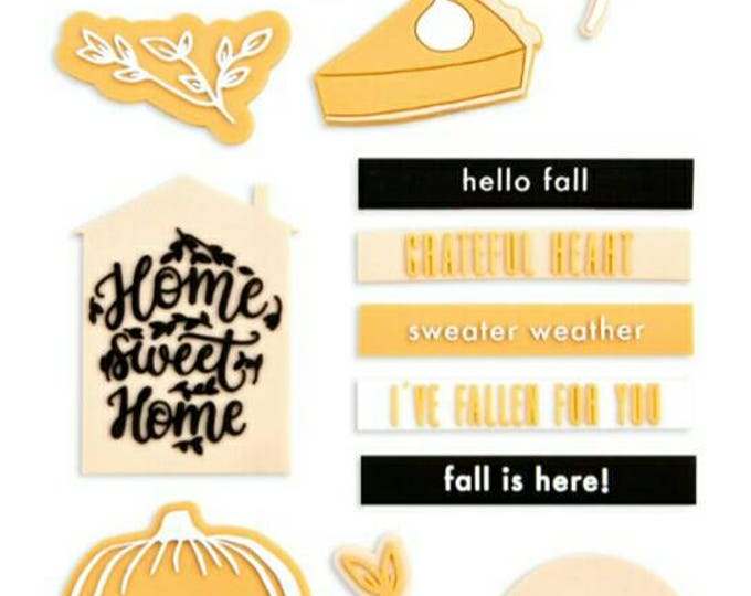 Amber moon rubber shapes