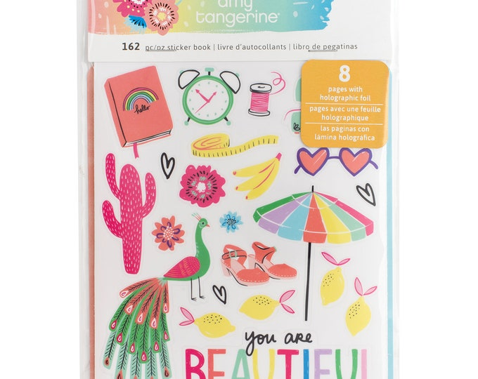 Sunshine and good times sticker book