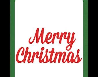 merry Christmas die