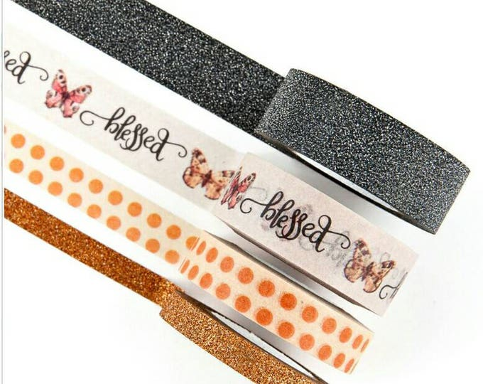 Amber moon tape 4 pk.