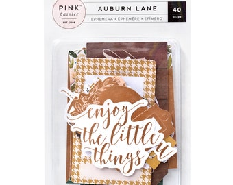 Auburn lane ephemera pack