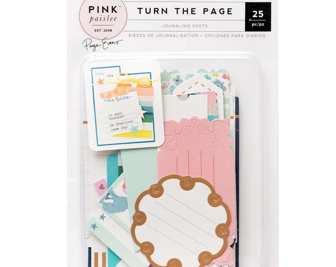 Turn the Page Paige evans journaling tags