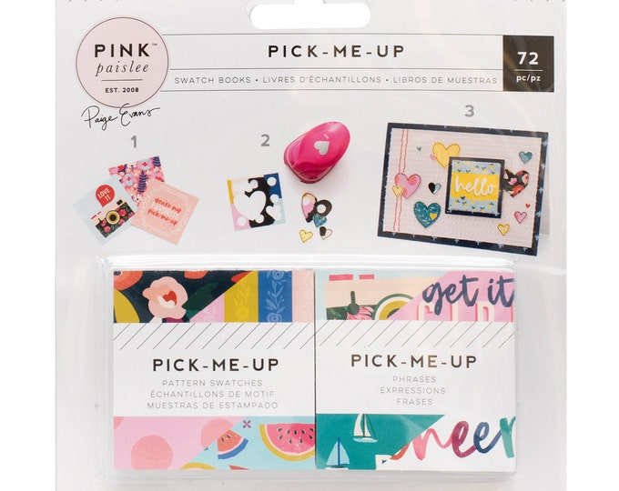 Pick me up swatch books