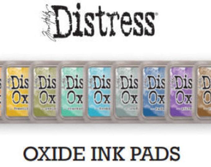 Rangers Oxide distress inks