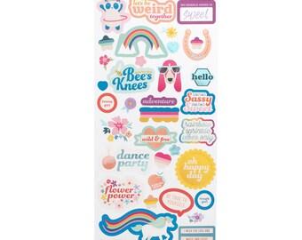 BOY/GIRL stickers wild child pink paislee
