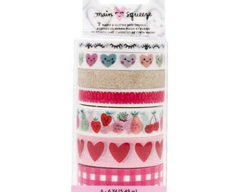 Main squeeze crate paper washi tape set