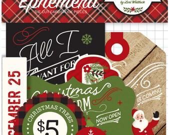 A perfect christmas ephemera pack