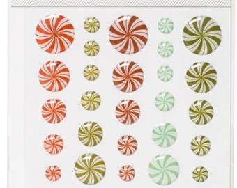 Candy enamel stickers american crafts