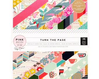 Turn the page paige evans 6x6 paper pad