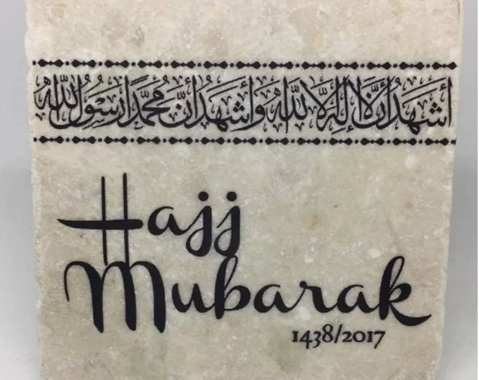 Featured listing image: Hajj Mubarak - Gift for Hajji / Hajja