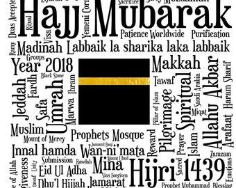Hajj 2018 Print-  - Hajj Mubarak