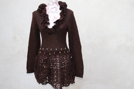 Bohemian Wool Dress