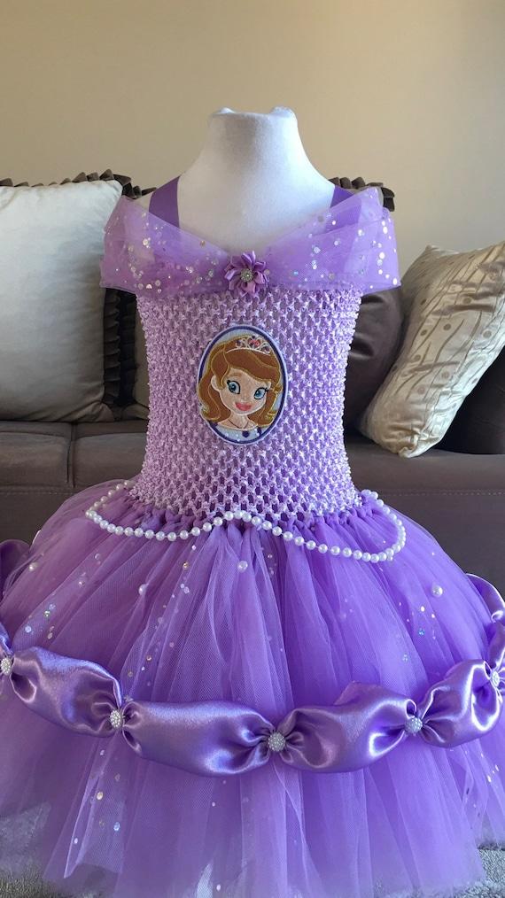Tutu Dress Princess Sofia Etsy