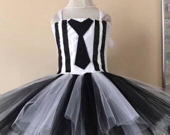 Dress tutu beetleju-ce / beetlejuice tutu dress princess tutu