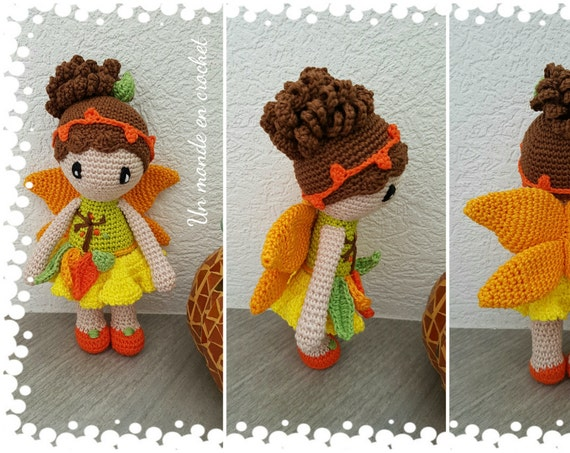 Amber, autumn fairy (french PDF)
