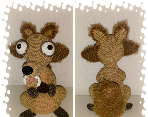 Tutorial in french for squirrel 25 cm high (PDF in french)