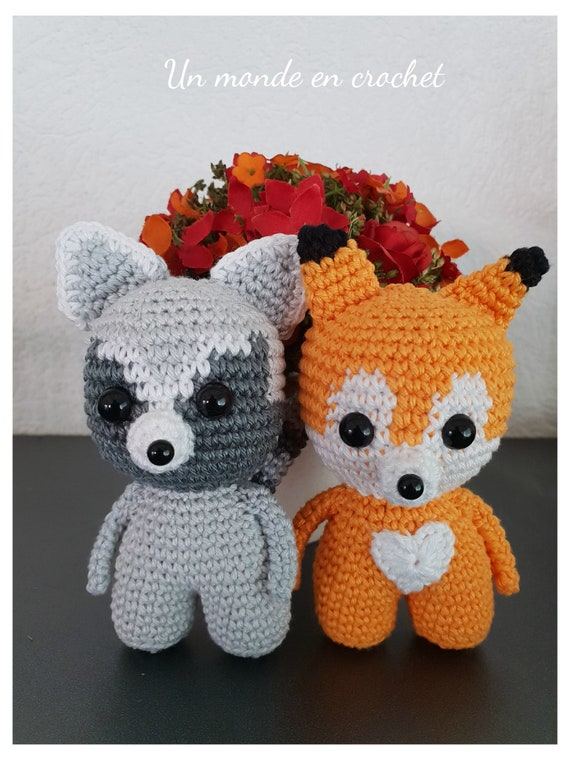 Toddlers - fox and raccoon (PDF IN FRANCAIS)