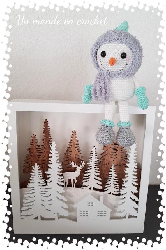 Mini Yuki snowman (french PDF)