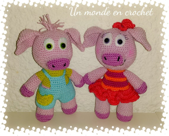 Coco and Chanelle, pigs (PDF in french)