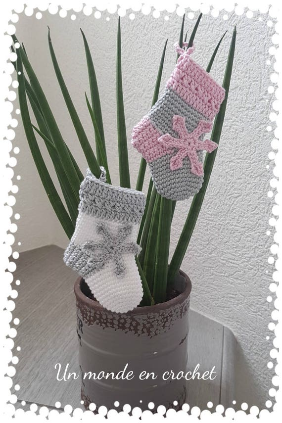 My little socks to hang (french PDF)
