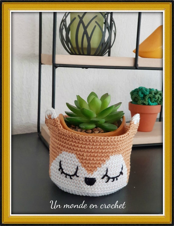 Small fox basket (PDF in French)
