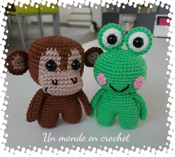 Toddlers - frog - monkey (PDF in English)