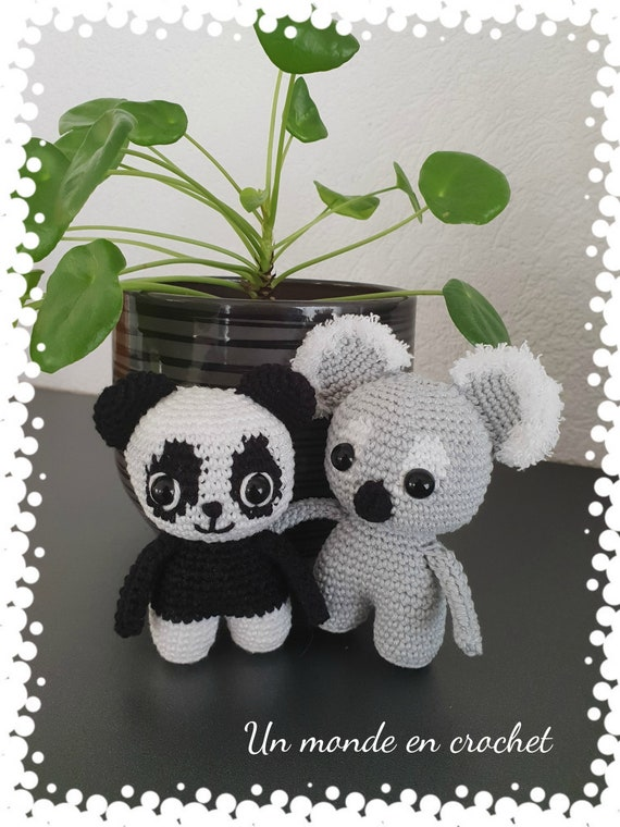 The little ones-koala and Panda (PDF in French)