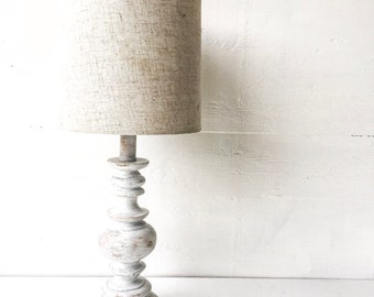 Rustic Table Lamp Etsy